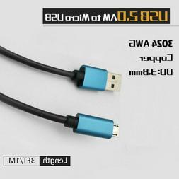 Micro USB Fast Charging Cable for Galaxy S7/S6/edge/Note 5/N