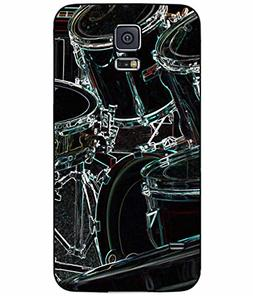 Neon Drums TPU RUBBER SILICONE Phone Case Back Cover Samsung