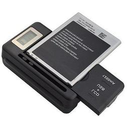NEW DIGITAL LCD UNIVERSAL CELL PHONE BATTERY CHARGER USB POR