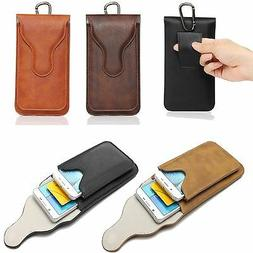 New Leather Belt Loop Clip Holster Pouch Sleeve Universal Ce