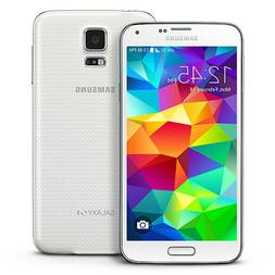 NEW UNLOCKED AT&T SHIMMERY WHITE SAMSUNG GALAXY S5 SM-G900A