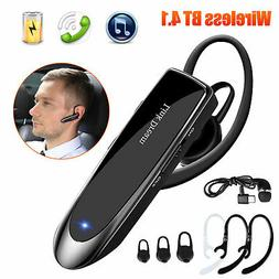Noise Cancelling Headset Bluetooth Wireless Phone with Mic T