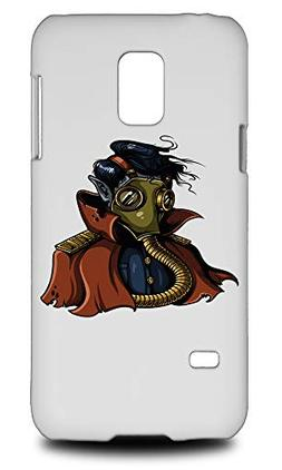 Nuclear Waste Guy In Mask Hard Phone Case Cover for Samsung