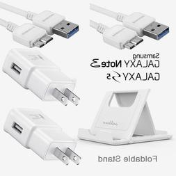 OEM Samsung Galaxy S5 Fast Rapid Wall Charger  3FT USB 3.0 C