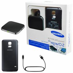 OEM Samsung Galaxy S5 Wireless Charging Cover & Pad Kit EP-W