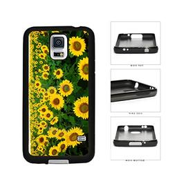BleuReign Pretty Yellow Sunflowers TPU Rubber SILICONE Phone