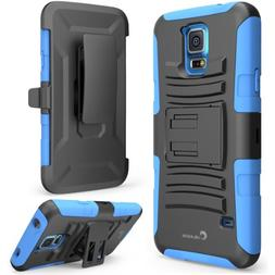 Prime Dual Layer Holster Case with Kick Stand for Samsung Ga