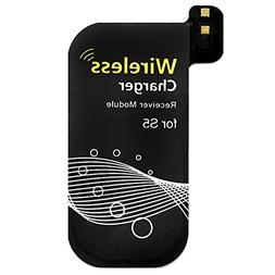 Qi Charging Receiver for Galaxy S5, DLAND 0.5mm Ultra-thin Q