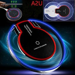Qi Wireless Phone Charger LED Tablet Charger Samsung Galaxy