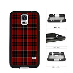 Red Buffalo Plaid Pattern TPU RUBBER Phone Case Back Cover S
