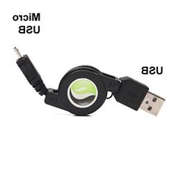 Retractable USB Cable Charger Power Wire Sync Data Cord for