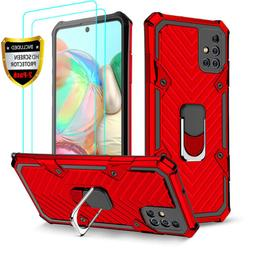 For Samsung Galaxy A51 A71 Stand Hard Shockproof Case Cover