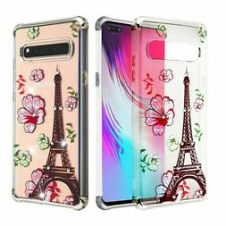 For Samsung Galaxy S10 5G Clear Eiffel Tower Klarion Candy H