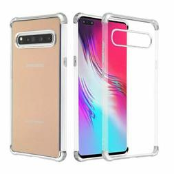 For Samsung Galaxy S10 5G Clear Silver Klarion Candy Hard Pl