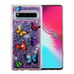 For Samsung Galaxy S10 5G Multi-Color Butterfly Dancing Blin