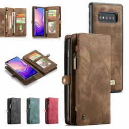 For Samsung Galaxy S10 5G Plus S10e Magnetic Leather Removab
