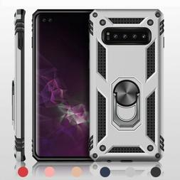For Samsung Galaxy S10 5G/S10e/S10 Plus Hard TPU Magnet Ring