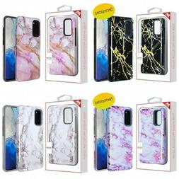 Samsung Galaxy S20 5G Design 2-Piece Silicone Hard Design Ca