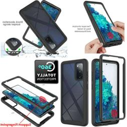For Samsung Galaxy S20 FE 5G Full-Body Rugged Clear Case Wit