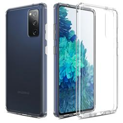 For Samsung Galaxy S20 FE 5G Case Clear Shockproof Flexible