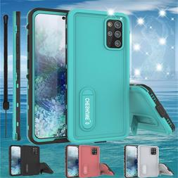 For Samsung Galaxy S20 Plus 5G Waterproof Case with Screen P