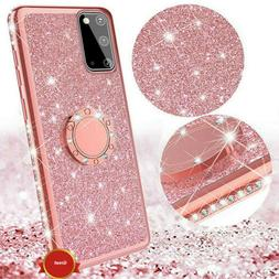 For Samsung Galaxy S20 Note20 Ultra 5G Bling Glitter Ring St