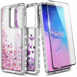 For Samsung Galaxy S20 Plus S20 Ultra 5G Liquid Glitter Cove