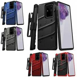 Samsung Galaxy S20 Ultra 5G BOLT Case Cover With Clip Holste