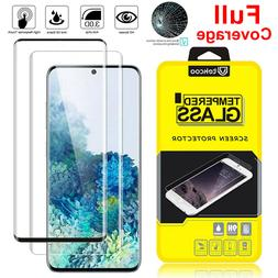 For Samsung Galaxy S20 Ultra Plus 5G Full Cover Tempered Gla