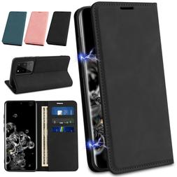 For Samsung Galaxy Note20/S20 Ultra Flip Wallet Leather Magn