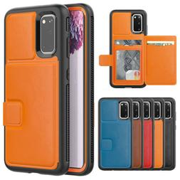 For Samsung Galaxy S20 Ultra S10 S9 Note 9 Card Holder Walle