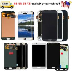 For Samsung Galaxy S4 S5 S6 S7 LCD Screen Touch Digitizer Re