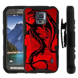 TurtleArmor | Compatible for Samsung Galaxy S5 Active Case |