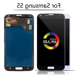 For Samsung Galaxy S5 G900 i9600 LCD Display Touch Screen Di
