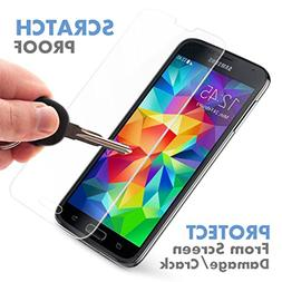 OMOTON Samsung Galaxy S5 Glass Screen Protector  -     Tempe