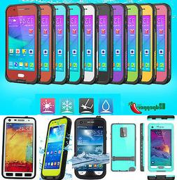 For Samsung Galaxy S5 S6 S4 NOTE 3 4 Waterproof Shockproof D