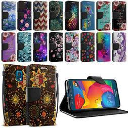 For Samsung Galaxy S5 Sport G860 ID Card Flip Wallet Kicksta