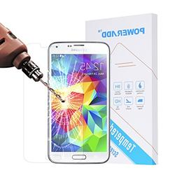 Poweradd Samsung Galaxy S5 Tempered Glass Screen Protector w