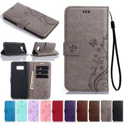 For Samsung Galaxy S7 S8 S9 S10 S20 Plus Leather Wallet Case