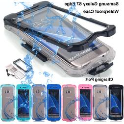 for Samsung Galaxy S7 Edge/ S8+ Shockproof Waterproof Dirt P