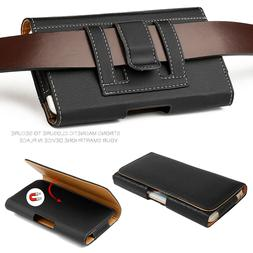 FOR Samsung Galaxy S8/S9 Plus Note 9 8 Leather Belt Clip Loo