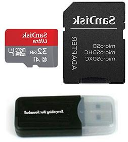 SanDisk 32GB Ultra Micro SD SDHC UHS-I Class 10 Memory Card