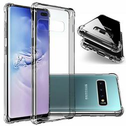 Clear Shockproof Case For Galaxy Note 20 10 9 8 5 S6 S7 S8 S
