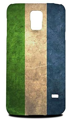 Sierra Leone Country Flag Hard Phone Case Cover for Samsung