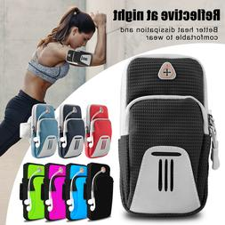 Sports Running Jogging Gym Armband Arm Band Bag Pouch Case H