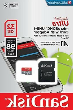 SanDisk Ultra 32GB-200GB Micro SD C10 SDXC Memory Card for S
