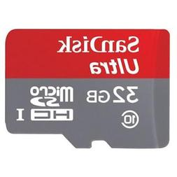 SANDISK ULTRA 32GB MEMORY CARD MICRO-SDHC MICROSD HIGH SPEED