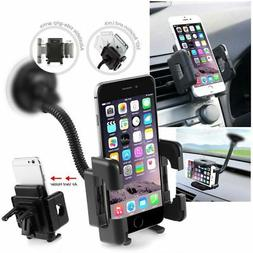 Insten Universal Windshield Gooseneck Car Mount Cell Phone H