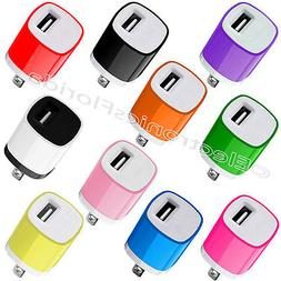 USB Wall Charger Fast 1A USB Adapter For Galaxy S5 S4 S3 Not