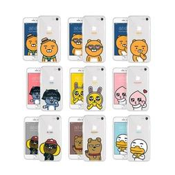 KAKAO FRIENDS UV Jelly Case Cover Protector For Galaxy S5-S7